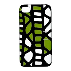 Green decor Apple iPhone 4/4S Hardshell Case with Stand