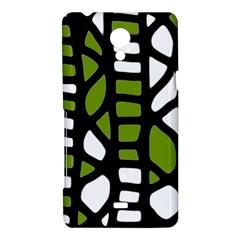 Green decor Sony Xperia T