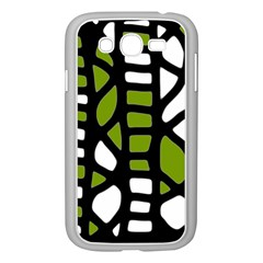 Green decor Samsung Galaxy Grand DUOS I9082 Case (White)