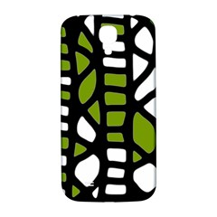 Green decor Samsung Galaxy S4 I9500/I9505  Hardshell Back Case