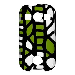 Green decor Samsung Galaxy S7710 Xcover 2 Hardshell Case