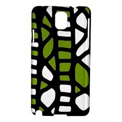 Green decor Samsung Galaxy Note 3 N9005 Hardshell Case