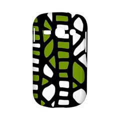 Green decor Samsung Galaxy S6810 Hardshell Case