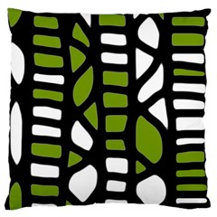 Green decor Standard Flano Cushion Case (Two Sides)