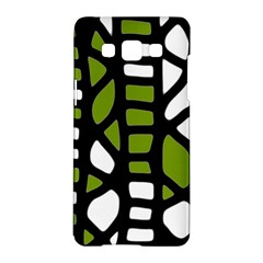 Green decor Samsung Galaxy A5 Hardshell Case