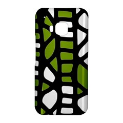 Green decor HTC One M9 Hardshell Case