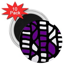 Purple decor 2.25  Magnets (10 pack)