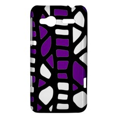 Purple decor HTC Radar Hardshell Case