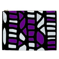 Purple decor Cosmetic Bag (XXL)