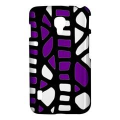 Purple decor LG Optimus L7 II