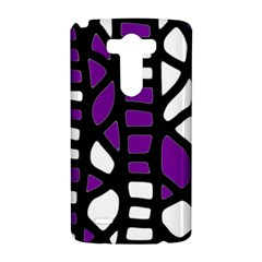Purple decor LG G3 Hardshell Case