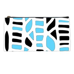 Light blue decor Pencil Cases