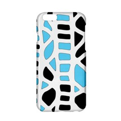Light blue decor Apple iPhone 6/6S Hardshell Case
