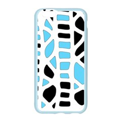 Light blue decor Apple Seamless iPhone 6/6S Case (Color)