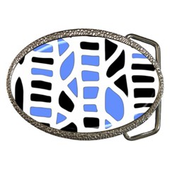 Blue decor Belt Buckles