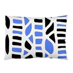 Blue decor Pillow Case