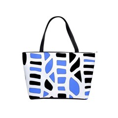 Blue decor Shoulder Handbags