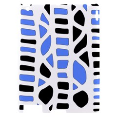 Blue decor Apple iPad 2 Hardshell Case
