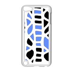 Blue decor Apple iPod Touch 5 Case (White)