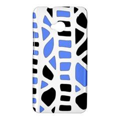 Blue decor HTC One M7 Hardshell Case