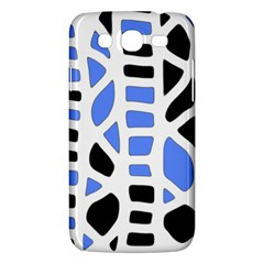 Blue Decor Samsung Galaxy Mega 5 8 I9152 Hardshell Case
