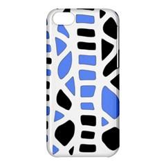 Blue decor Apple iPhone 5C Hardshell Case