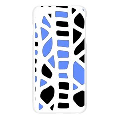 Blue decor Apple Seamless iPhone 6 Plus/6S Plus Case (Transparent)