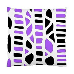 Purple abstract decor Standard Cushion Case (One Side)