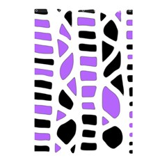 Purple abstract decor Shower Curtain 48  x 72  (Small)