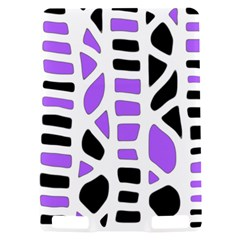 Purple abstract decor Kindle Touch 3G