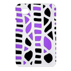 Purple abstract decor Samsung Galaxy Tab 7  P1000 Hardshell Case
