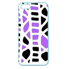 Purple abstract decor Apple Seamless iPhone 5 Case (Color)