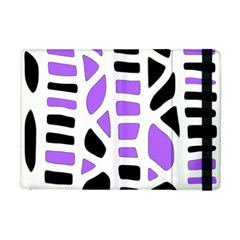 Purple abstract decor Apple iPad Mini Flip Case