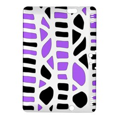 Purple abstract decor Kindle Fire HDX 8.9  Hardshell Case