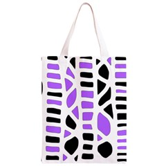 Purple abstract decor Classic Light Tote Bag