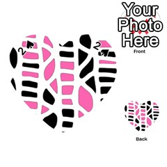 Pink decor Playing Cards 54 (Heart)