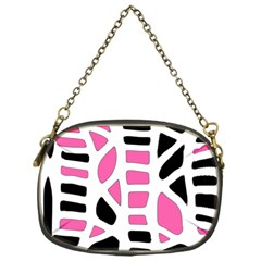 Pink decor Chain Purses (One Side)