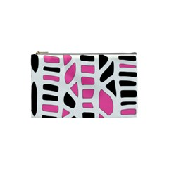 Pink decor Cosmetic Bag (Small)