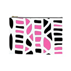 Pink decor Cosmetic Bag (Large)