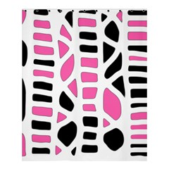 Pink decor Shower Curtain 60  x 72  (Medium)