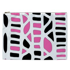 Pink decor Cosmetic Bag (XXL)