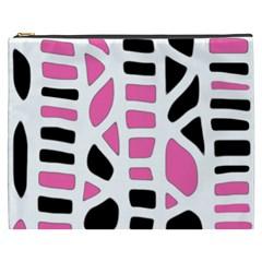 Pink decor Cosmetic Bag (XXXL)