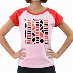 Orange decor Women s Cap Sleeve T-Shirt
