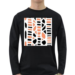 Orange decor Long Sleeve Dark T-Shirts
