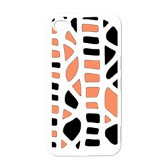 Orange decor Apple iPhone 4 Case (White)