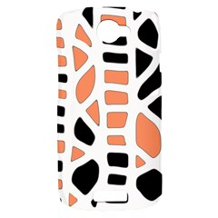 Orange decor HTC One S Hardshell Case