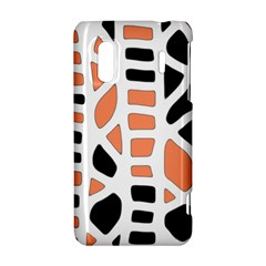Orange decor HTC Evo Design 4G/ Hero S Hardshell Case