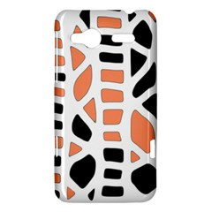 Orange decor HTC Radar Hardshell Case