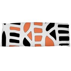 Orange decor Body Pillow Case Dakimakura (Two Sides)