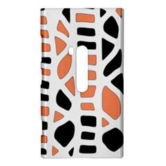Orange decor Nokia Lumia 920